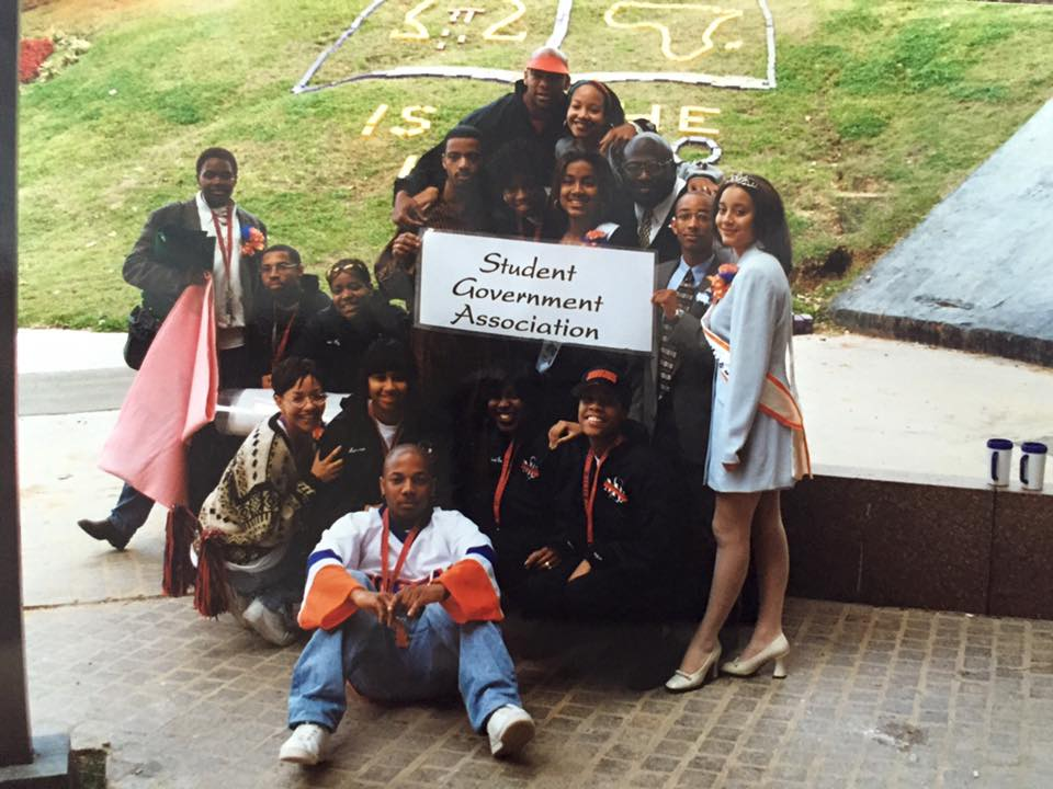 Morgan State Student Government Association ca. 1990s.