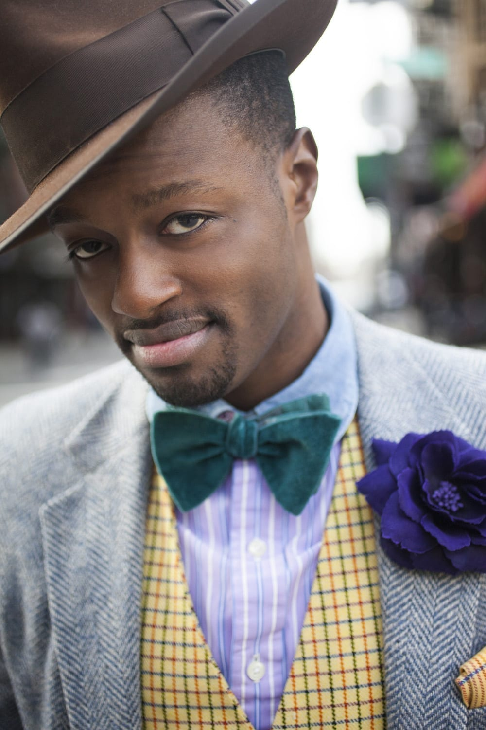 Dandy Wellington photographed by Rose Callahan in NYC on Jan 19, 2013