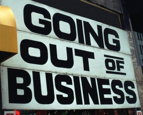 Black businesses fail