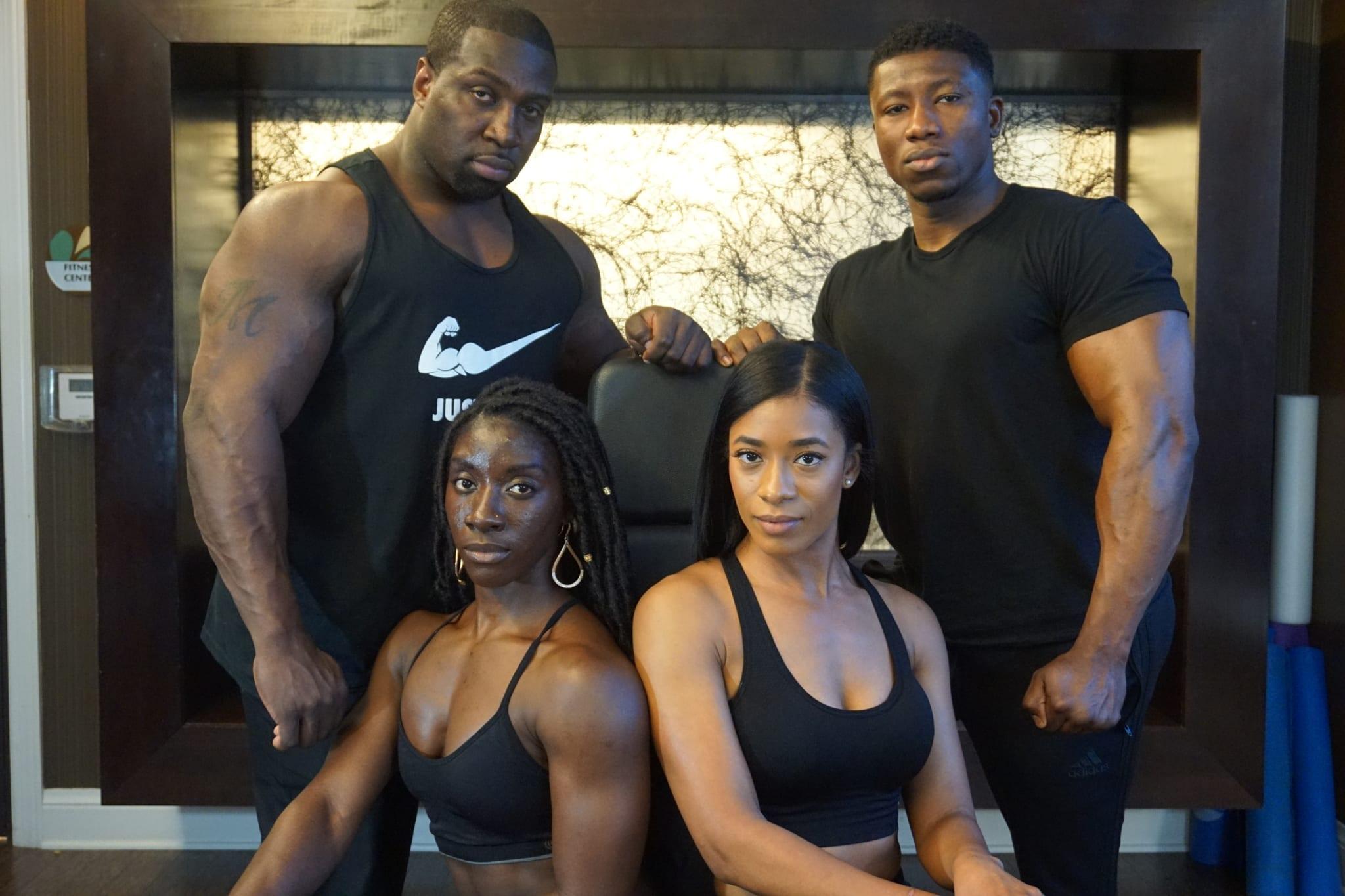 Black bodybuilders bdsm pics 36