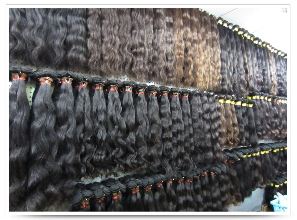 Human Hair Extensions Shoppe Black