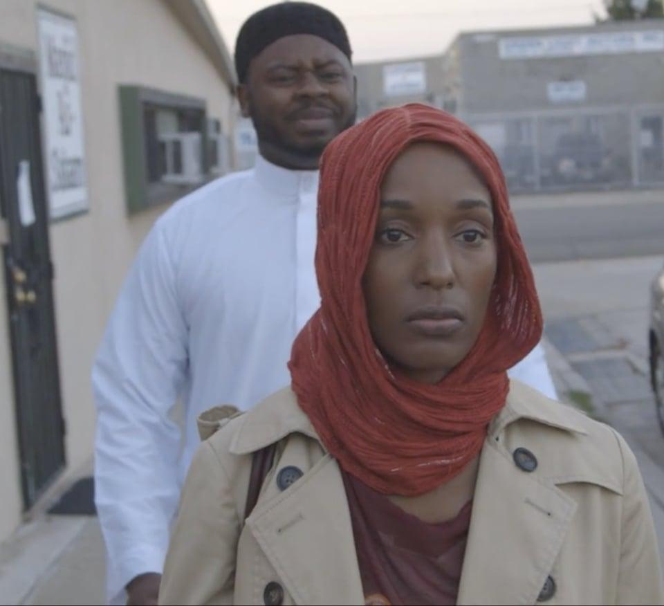black muslim marriage