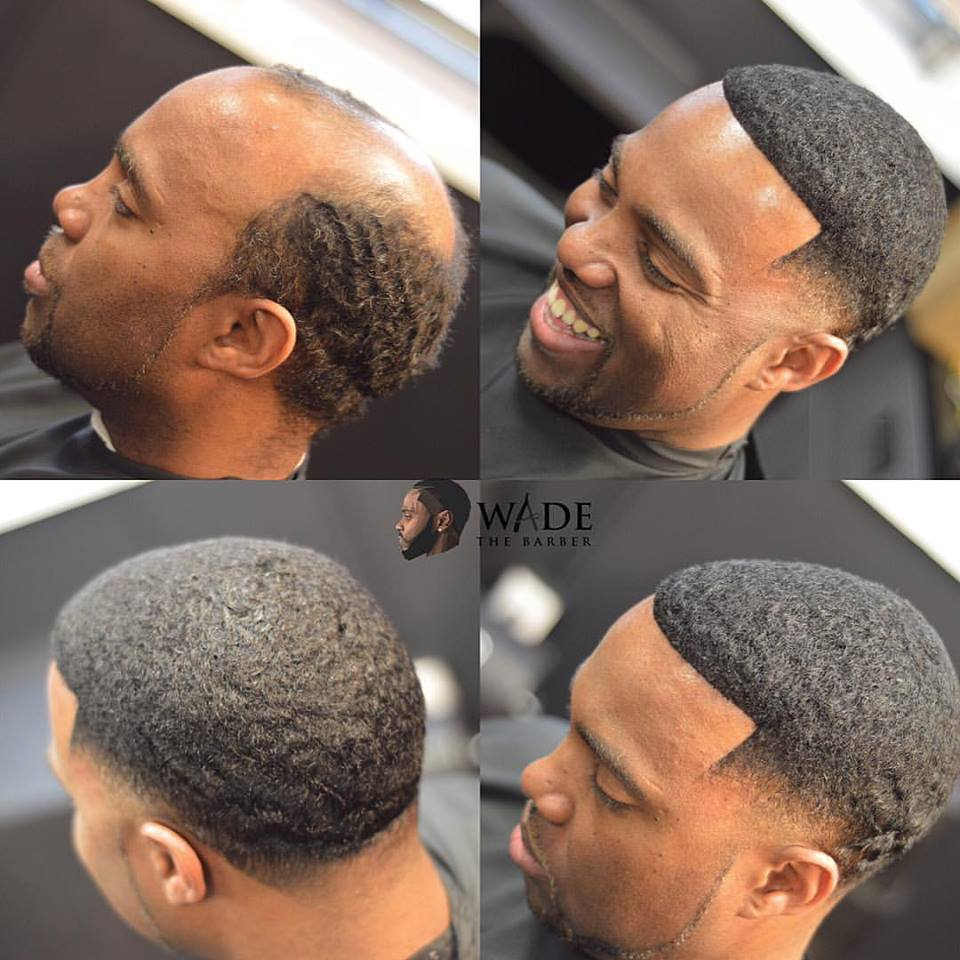 Wade The Barber Is Installing Confidence One Man Weave At A Time