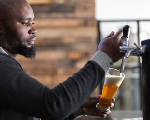 black owned beer