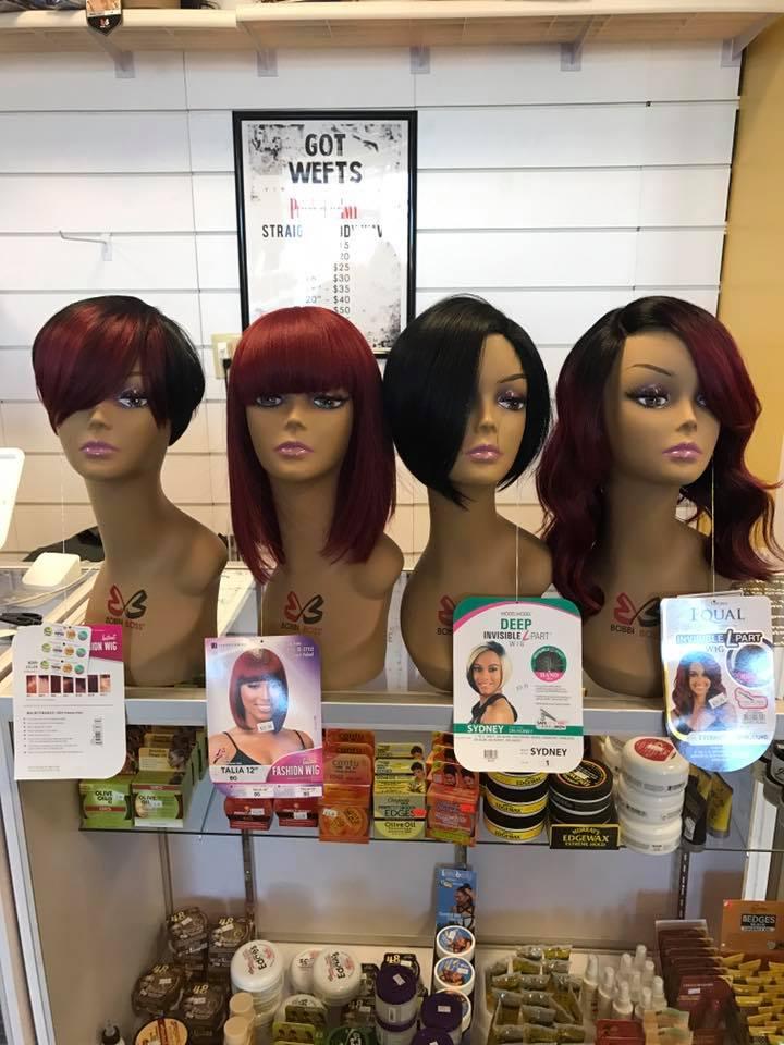Black girl hair store near me