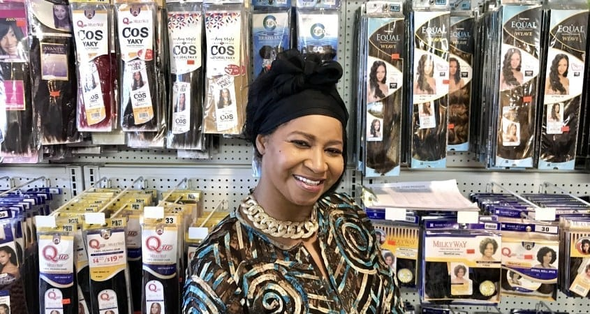 Chicago Area Woman Opens Beauty Supply Store Shoppe Black