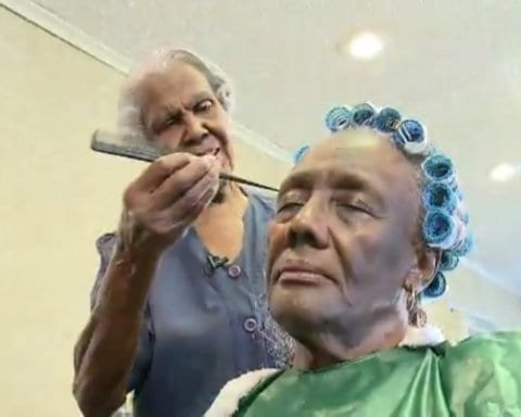 99 Year Old Beautician