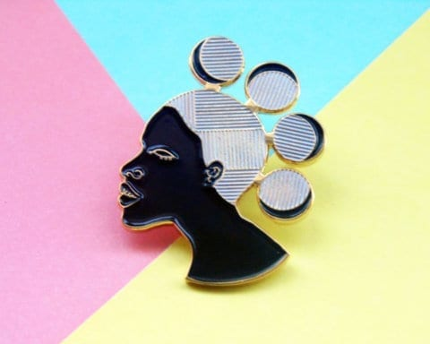 black owned pin and patch businesses