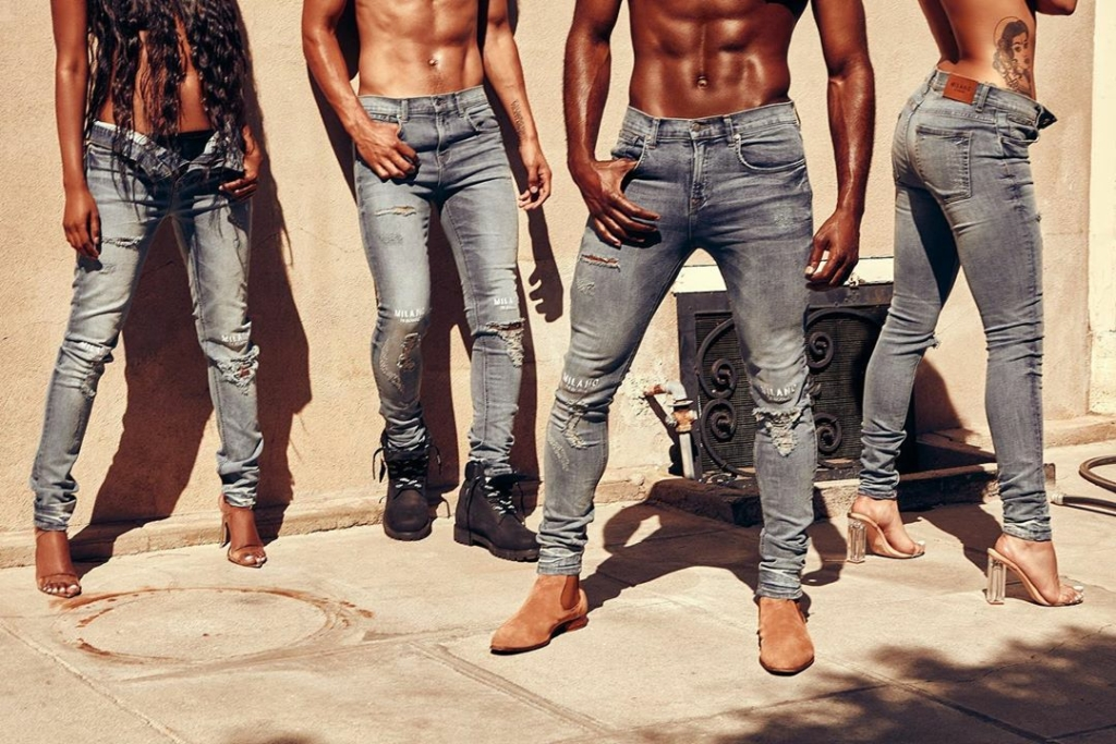 black owned denim